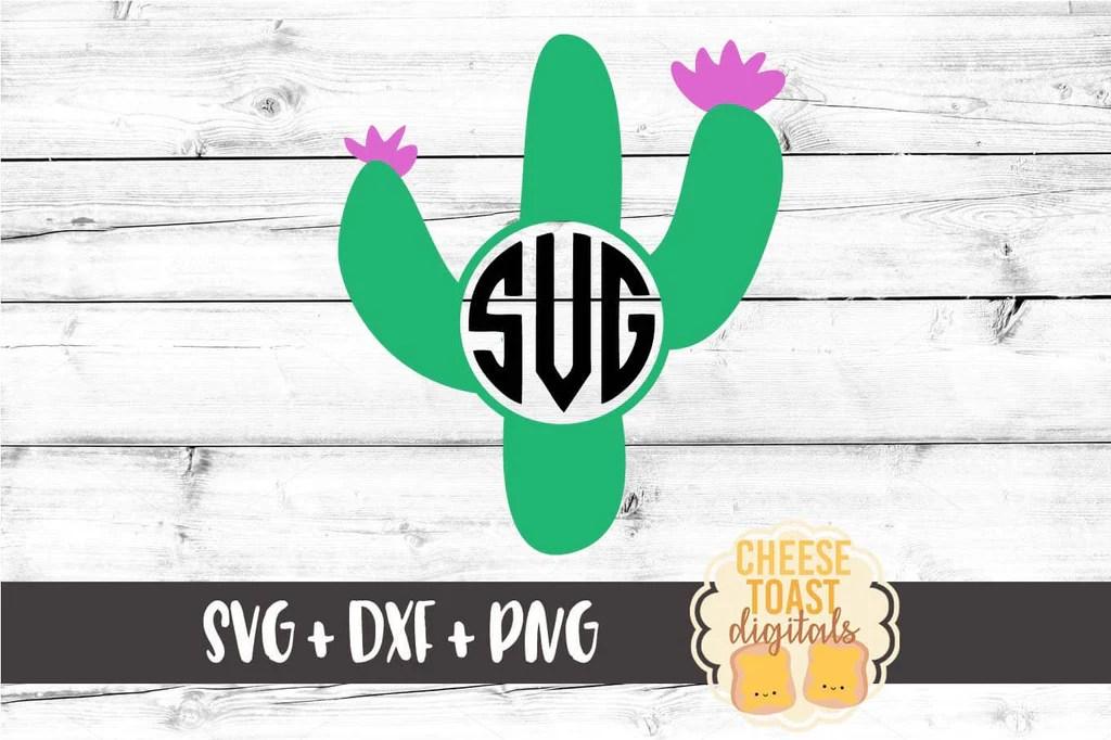 Download Cactus Monogram SVG - Free and Premium SVG Files - Cheese ...