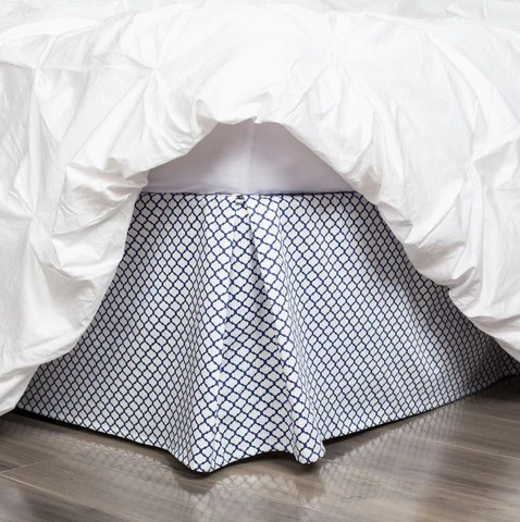 Blue Bed Skirt Cloud Blue Bed Skirt Crane Amp Canopy