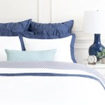 Slate Blue And White Bedding The Linden Slate Blue Bedding Crane Canopy