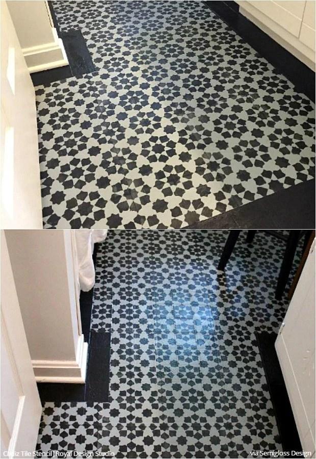 paint vinyl linoleum with floor