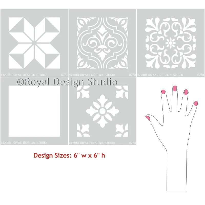 royal design studio floor stencils