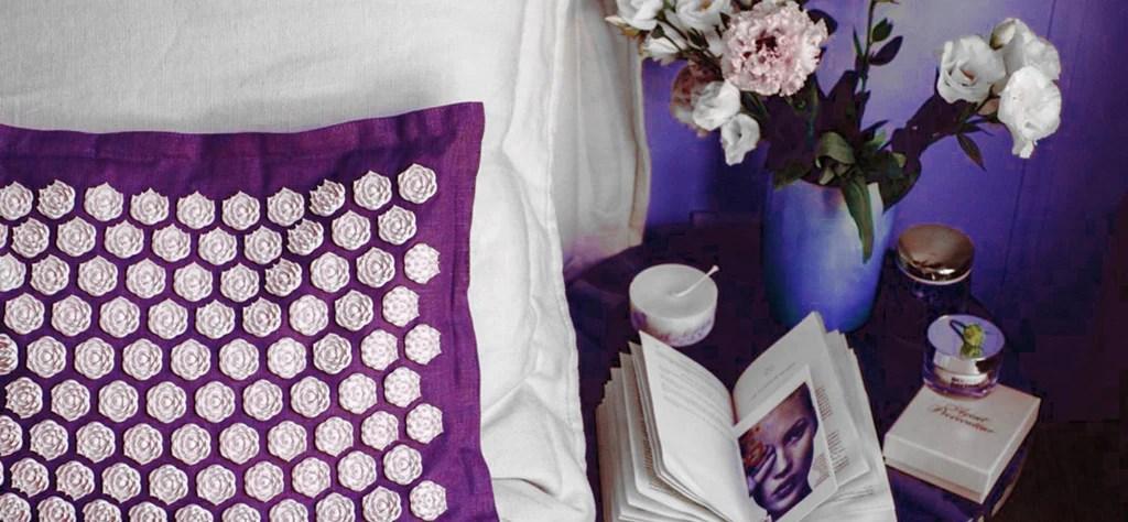 tapis d acupression les fleurs du lotus