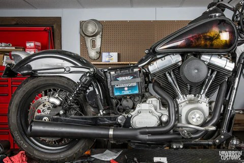 to build a custom motorcycle exhaust