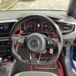Volkswagen Polo Mk6 Aw Gti R Line Carbon Fibre Steering Wheel Custom 2018 Present Diversion Automotive