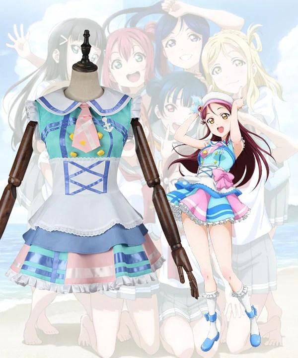 Love Live! Sunshine!! Aqours Sakurauchi Riko Cosplay Costume