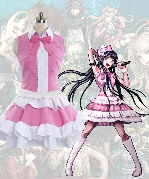 Dangan Ronpa Sayaka Maizono New Edition Cosplay Costume