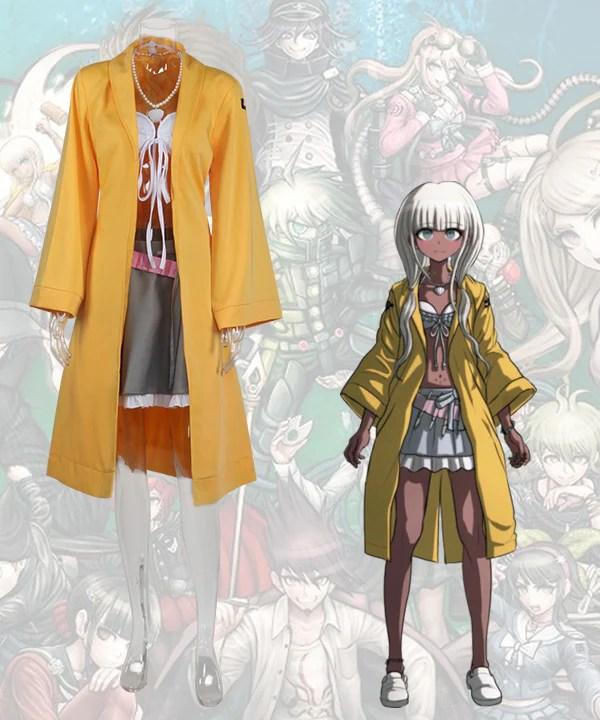 Danganronpa Dangan Ronpa V3: Killing Harmony Angie Yonaga Cosplay Costume