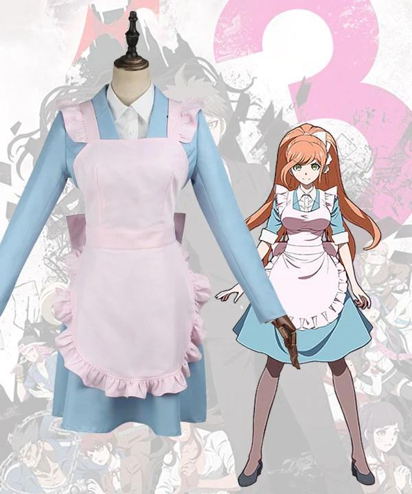 Danganronpa 3: The End Of Hope's Peak High School Despair Arc Chisa Yukizome Cosplay Costume