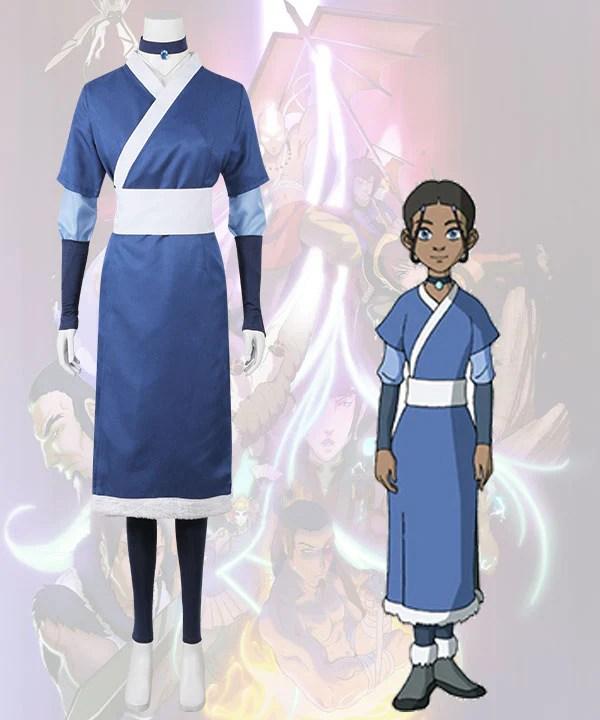 Avatar: Legend of Korra Katara New Edition Cosplay Costume