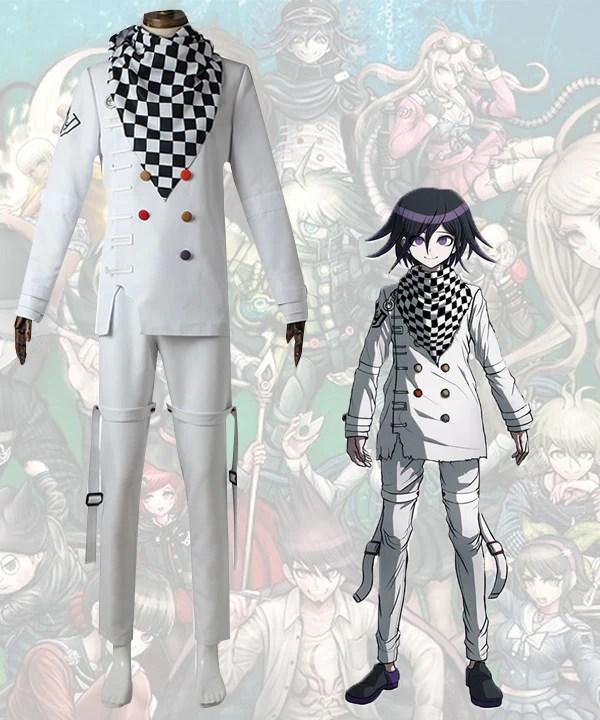 Danganronpa V3: Killing Harmony Kokichi Oma Cosplay Costume