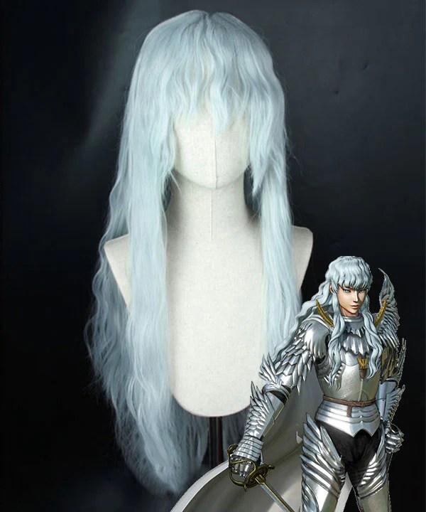 Berserk Griffith Silver Cosplay Wig
