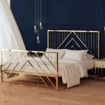 Silvia Luxury Gold Bedframe Urban Mood