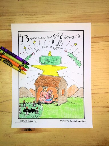 COLORING PAGES   Children s Ministry Deals Christmas Coloring Pages