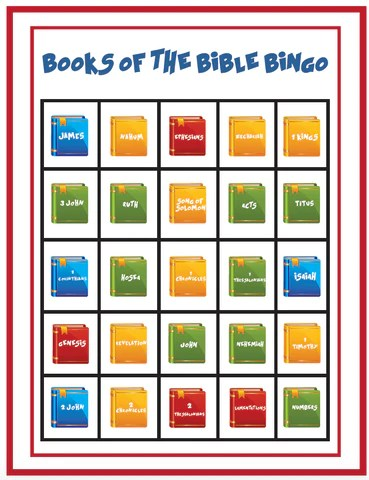 FREE Books of the Bible Children's Ministry Resources ...