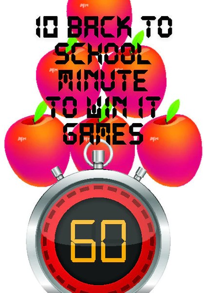 Back To School Minute To Win It Games Childrens