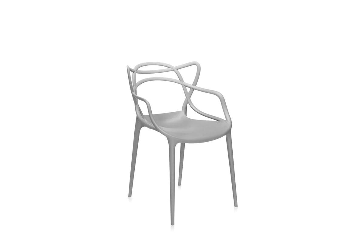 Masters Chair With Arms By Philippe Starck With Eugeni Quitllet For Kartell Space Furniture