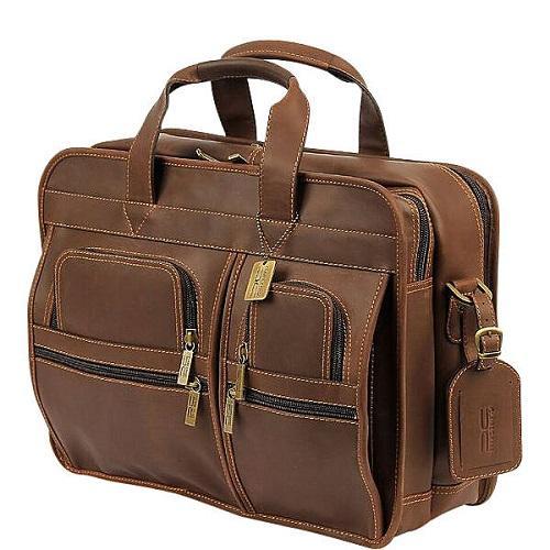 buffalo leather messenger bag for men