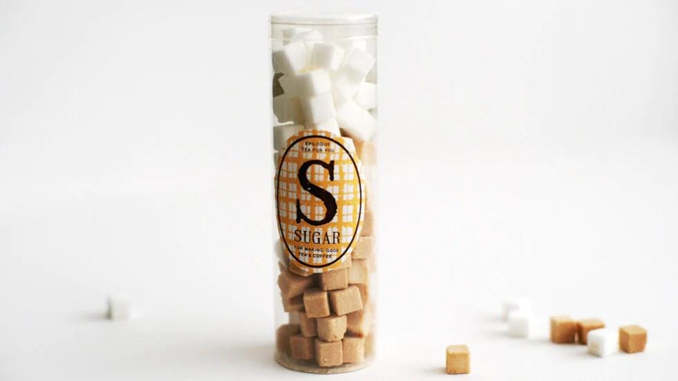 mini cube sugar from chambre de sucre