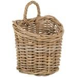 Kobo Rattan Wall Basket Small