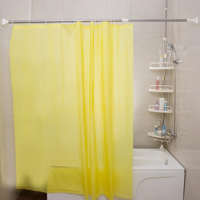 bao youni shower curtain rod shower curtain set free punch multi purpose multifunctional retractable stainless steel bath rod 164cm 270cm shower
