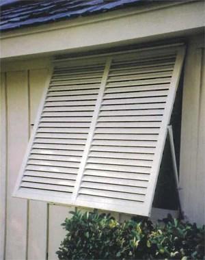 46 X 57 Hi Visibility Bahama Shutter Empire Shutters