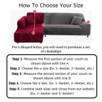 The World S Best Sofa Covers Slipcovers For L Shaped Couches Pretty Little Wish Com