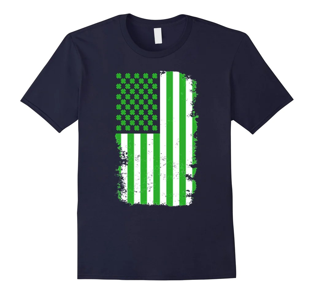 Dota St Patricks Day American Flag Shirt Green Shamrock