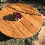 Table Top Fire Pit Cover Potted