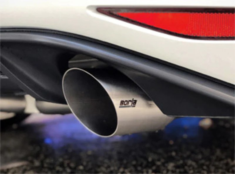 borla 15 17 volkswagen gti mk7 2 0t at mt ss s type catback exhaust w stainless brushed tips