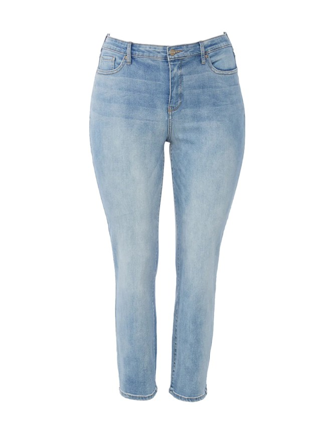 360 Curves Boost Biscayne Wash Ankle Straight Jeans