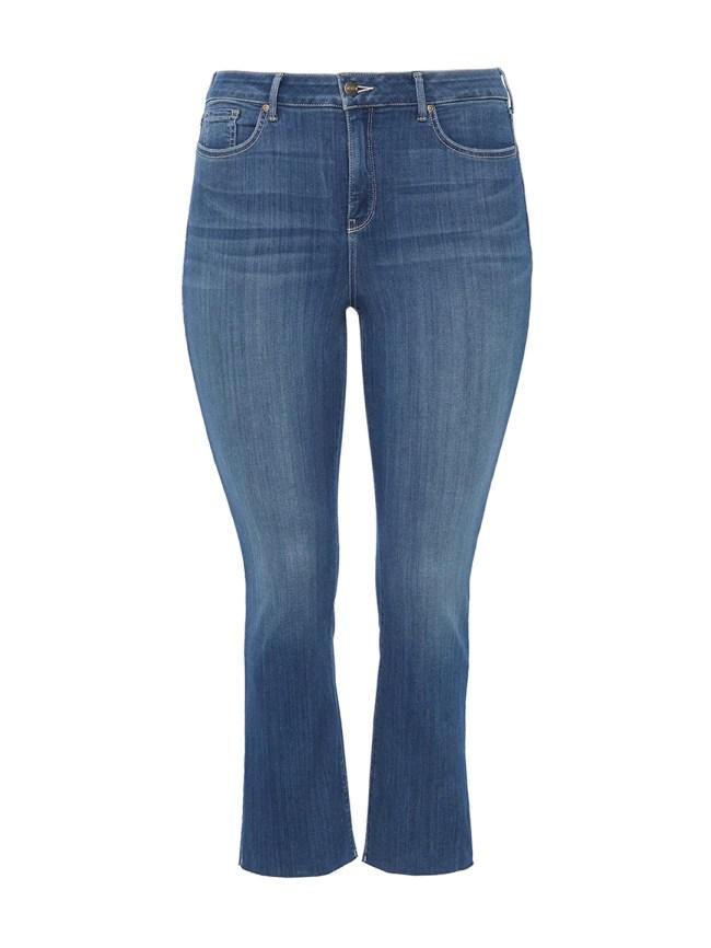 Marilyn Ankle Hobie Wash Raw Hem Jeans