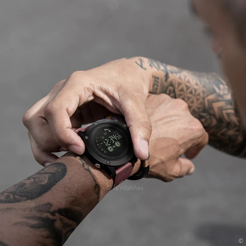 Smartwatch Tactical V3 Milewatches
