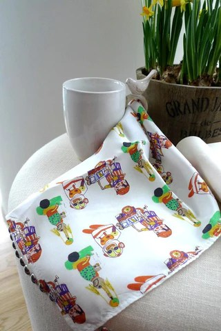 Toy Silk Handkerchief