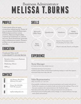 loft resumes resume template service