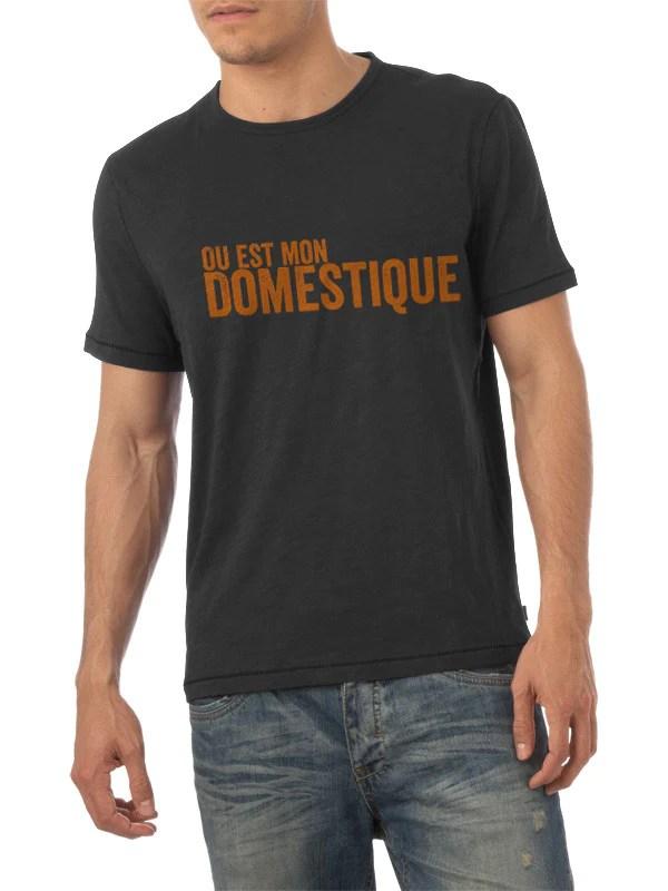 Ou est mon Domestique t-shirt