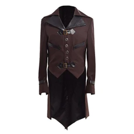Gothic Tailcoat Victorian Steampunk VTG Coat Jacket