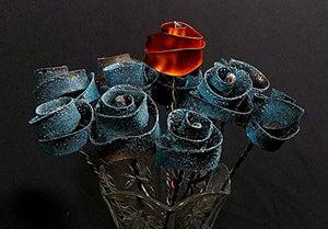 Set of 12 Stardust Forever Copper Roses