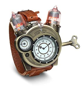 Steampunk-Styled Tesla Analog Watch