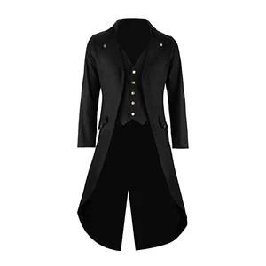 Mens Black Tailcoat Jacket