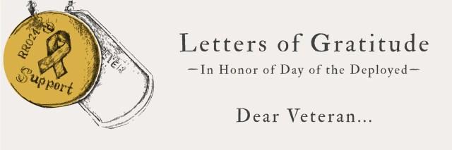 Letters of Gratitude: Letters to Veterans – R. Riveter
