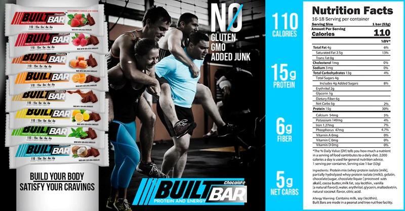 Best Tasting Protein Bars | BuiltBar.com