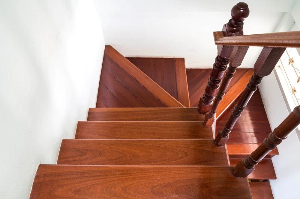 How To Make Your Wood Stairs Less Slippery – Direct Stair Parts   Slippery Wood Stairs Outdoor   Composite Decking   Non Slip Stair Tread   Porch   Hardwood   Prevent Slips