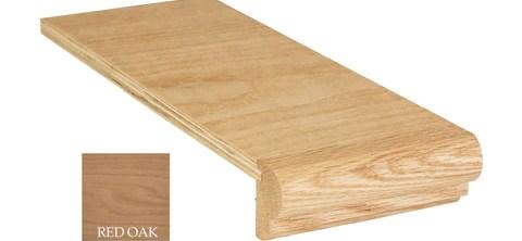 Returned Tread Rh Cap 5 1 4 X 12 C 8071 – Direct Stair Parts   Oak Stair Tread Caps   Scraped Oak   Red Oak   Vinyl Plank Flooring   Pergo Outlast   Sp125 4F048C