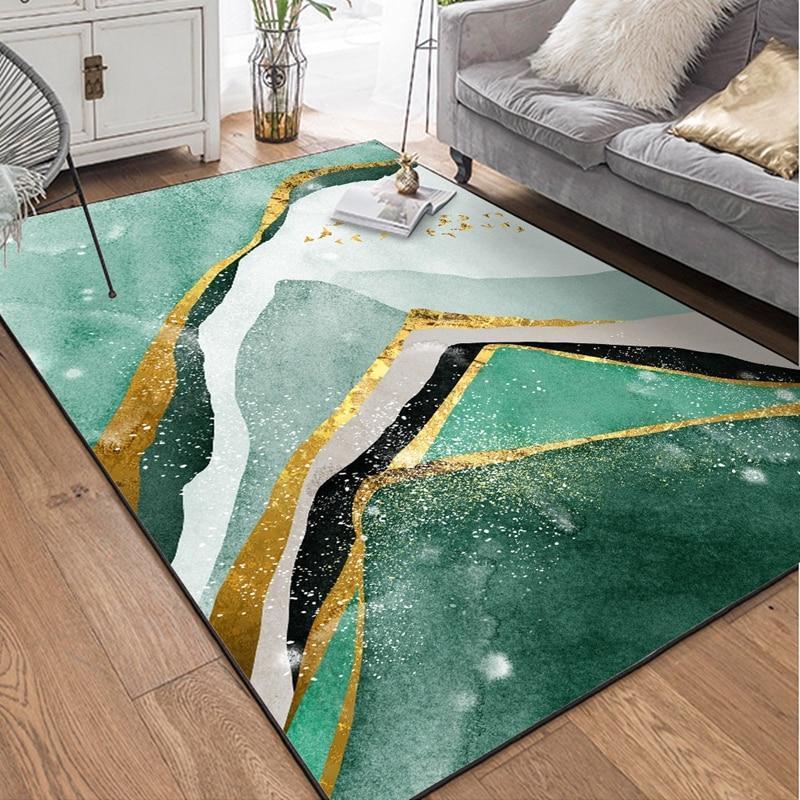 tapis de salon au style contemporain et design