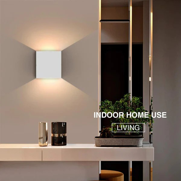 down indoor wall lamp modern aluminum