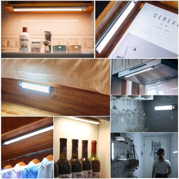aourow led under cabinet lighting usb