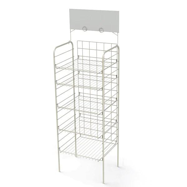 f18d consumer goods 18 shelf display rack