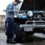 1964 Jeep Willys Wagon Railcar Fine Goods