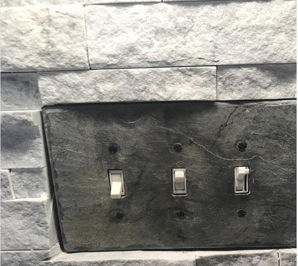 slate wall plates