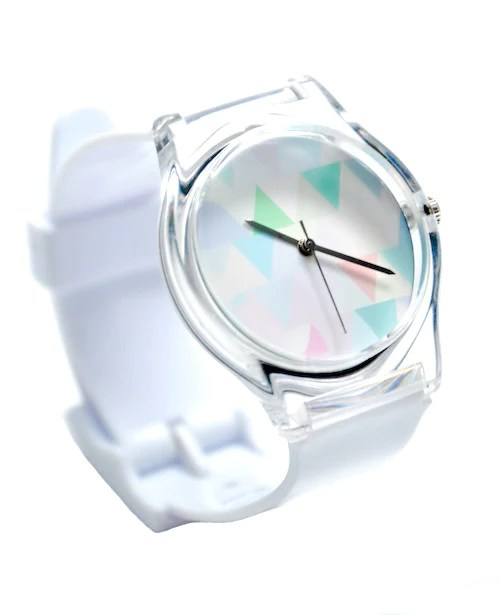 Pastel Triangles Watch